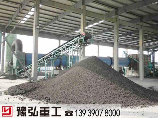 市政污泥干化处理设备使用现场