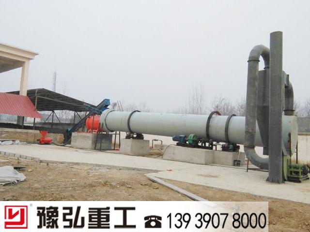 污泥脱水干化设备安装调试现场