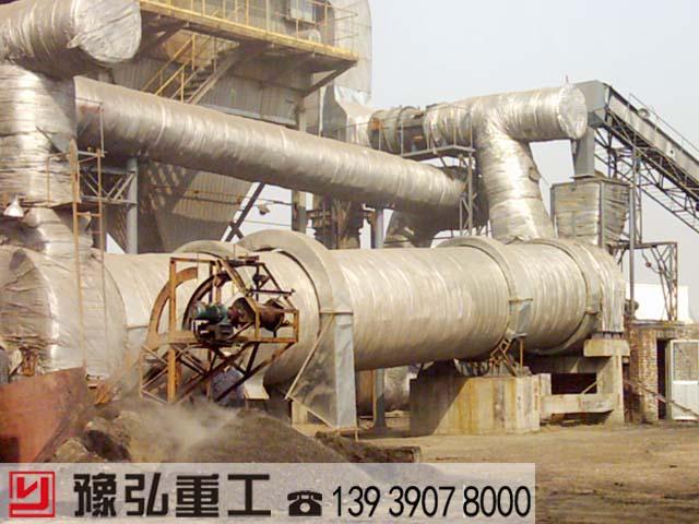 化工污泥干化处理设备现场
