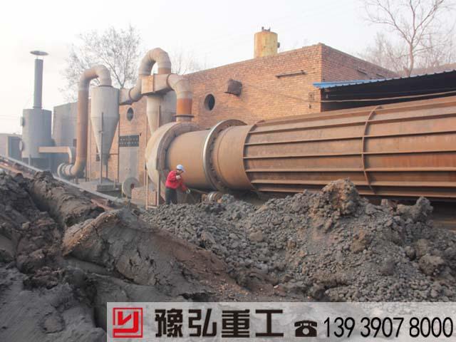 废弃污泥干化机的应用